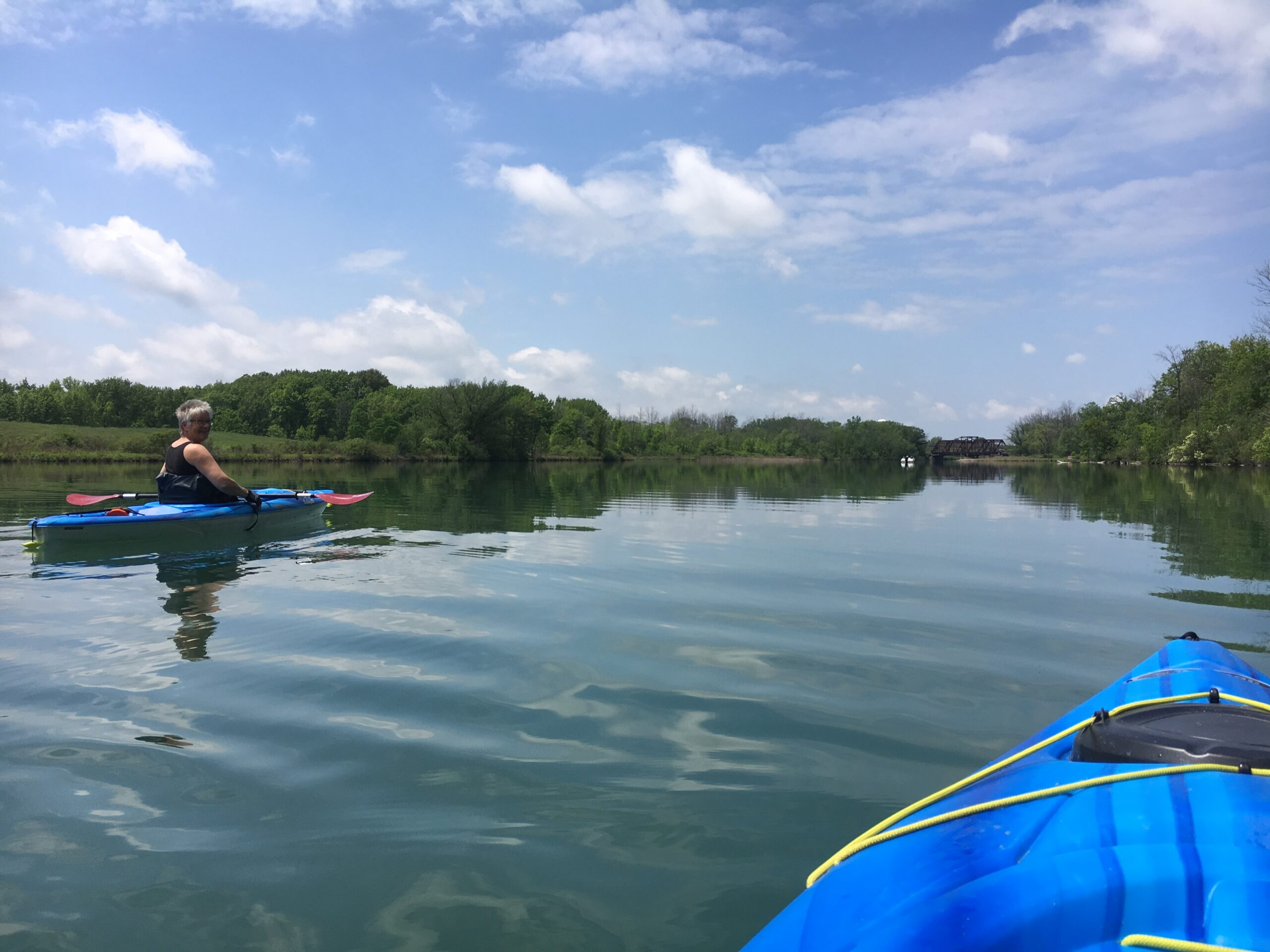 Kayaking Welland River